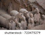 xian  china   may 11  2017  ...   Shutterstock . vector #723475279