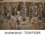 xian  china   may 11  2017  ...   Shutterstock . vector #723475285