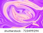 pale pink and violet softy...   Shutterstock . vector #723499294