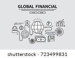 flat line vector editable...   Shutterstock .eps vector #723499831