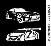 auto racing logo car logo ... | Shutterstock .eps vector #723538255