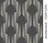 seamless vertical line pattern. ... | Shutterstock .eps vector #723571291