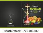 vector color menu design | Shutterstock .eps vector #723583687