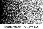 square halftone. black and... | Shutterstock .eps vector #723595165
