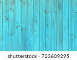 the old blue wood texture with... | Shutterstock . vector #723609295