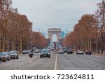 paris  france   feb 06  2016... | Shutterstock . vector #723624811