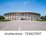 moscow  russia    june 1  2009  ...   Shutterstock . vector #723627007