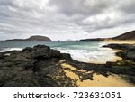 view of beautiful playa de las... | Shutterstock . vector #723631051
