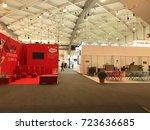 expo business. 26th september... | Shutterstock . vector #723636685