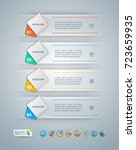 collection of vector... | Shutterstock .eps vector #723659935