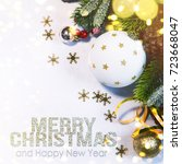 holiday background  greeting... | Shutterstock . vector #723668047