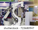 high technology and precision... | Shutterstock . vector #723680947