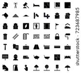 real estate icons | Shutterstock .eps vector #723687985