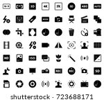 photography icons | Shutterstock .eps vector #723688171