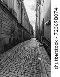stockholm historic center... | Shutterstock . vector #723698074