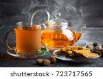 tea cup | Shutterstock . vector #723717565