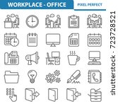 workplace and office icons....
