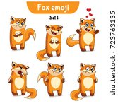 set kit collection sticker...   Shutterstock .eps vector #723763135