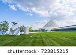 milwaukee art museum milwaukee... | Shutterstock . vector #723815215