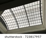 under the rooftop style | Shutterstock . vector #723817957