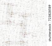 seamless dark brown grunge... | Shutterstock . vector #723828589