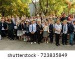 odessa  ukraine september 1 ... | Shutterstock . vector #723835849