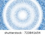 colorful halftone background... | Shutterstock .eps vector #723841654