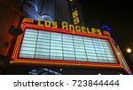 los angeles  ca  usa   december ... | Shutterstock . vector #723844444