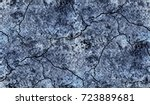 blue background worn denim... | Shutterstock . vector #723889681