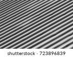 roofing iron | Shutterstock . vector #723896839