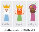 tags of the three wise men ... | Shutterstock .eps vector #723907501