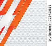 abstract geometric white  gray... | Shutterstock .eps vector #723910891