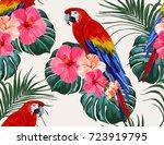 beautiful seamless vector... | Shutterstock .eps vector #723919795