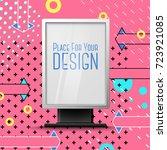 vector bright realistic... | Shutterstock .eps vector #723921085