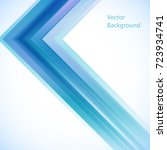 vector abstract background from ... | Shutterstock .eps vector #723934741