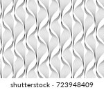 abstract floral pattern.... | Shutterstock .eps vector #723948409