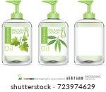 skincare package for oil....   Shutterstock .eps vector #723974629