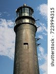 Small photo of A view of the Pensacola Lighthouse , Naval Air Station , Pensacola , Florida
