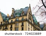 Small photo of Architecture near the central park, Dakota building, New York.