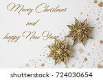 christmas card | Shutterstock . vector #724030654
