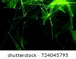 abstract technology and future... | Shutterstock . vector #724045795