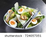 Small photo of Caesar salad plate
