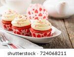 Red Velvet Cupcakes.