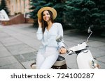 close up lifestyle image of... | Shutterstock . vector #724100287