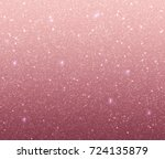 Stock vector rose gold glitter texture rose sequins pink sparkle pattern vector background for holiday 724135879