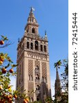 Famous Cathedral Of Sevilla In...
