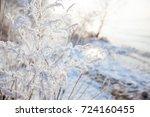 winter landscape  beach winter... | Shutterstock . vector #724160455