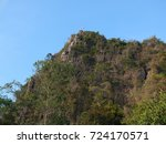 the cliff in north of thailand... | Shutterstock . vector #724170571