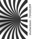 illustration of tunnel template....   Shutterstock . vector #724181209