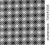 grunge black and white texture. ... | Shutterstock .eps vector #724191535